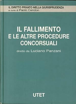 Il Fallimento. Vol. 5: il Fallimento e le Altre Procedure Concorsuali.: Panzani, Luciano