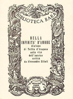 Della Infinità d'Amore.: Tullia d'Aragona