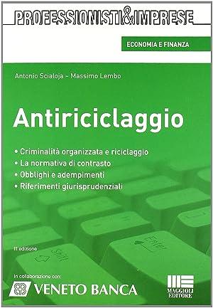Antiriciclaggio.: Scialoja, Antonio Lembo, Massimo
