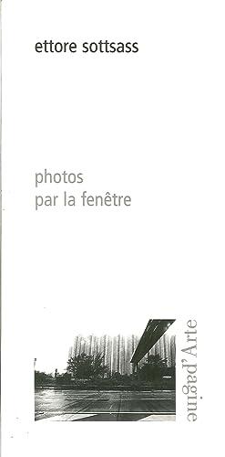 Photos Par la Fenêtre.: Sottsass, Ettore
