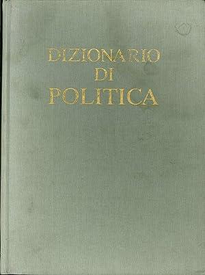 Dizionario di Politica.: Matteucci, Nicola Bobbio, Norberto