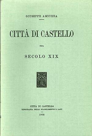 Città di Castello nel secolo XIX: Amicizia, Giuseppe