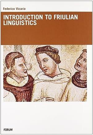 Introduction to Friulian Linguistics: Vicario, Federico