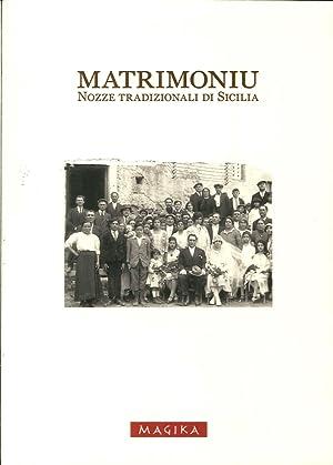 Matrimoniu. Nozze tradizionali di Sicilia.