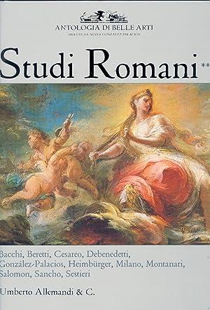 Antologia di Belle Arti. Studi Romani. Vol. 2.