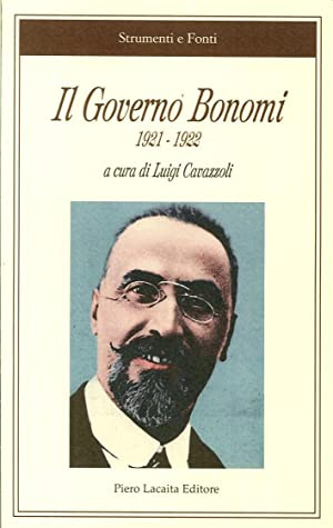 Il governo Bonomi 1921-1922.