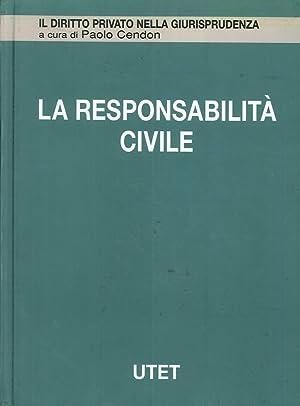 La responsabilità civile. Vol. 4: Responsabilità contrattuale.