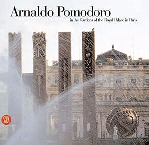 Arnaldo Pomodoro in the Gardens of the Royal Palace in Paris.