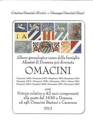 Albero Genealogico e Notizie della Famiglia Omacini.: Omacini, Caterina Omacini, Giuseppe