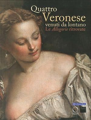 """Quattro Veronese Venuti Da Lontano. Le """"Allegorie"""" Ritrovate."""