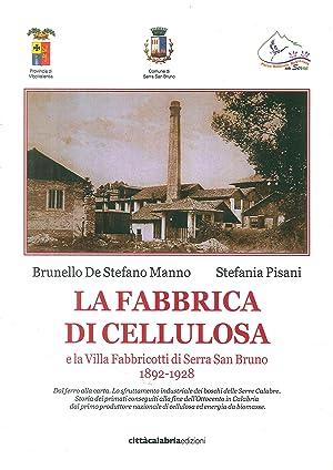 La fabbrica di cellulosa e la Villa Fabbricotti di Serra San Bruno (1892-1928.: De Stefano Manno, ...