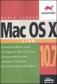 Mac OS X 10.7 Lion.: Langer, Maria