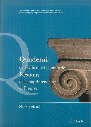 Quaderni dell'Ufficio e Laboratorio Restauri della Soprintendenza