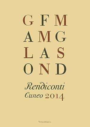 Rendiconti. Cuneo, 2014.