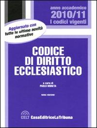 Codice di diritto ecclesiastico.