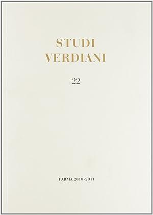 Studi verdiani. Vol. 22.: Petrobelli Pierluigi