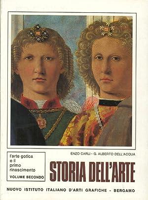 Storia dell'Arte. L'Arte Gotica e il Primo: Carli, Enzo Dell'Acqua,