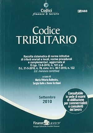 Codice tributario 2010.