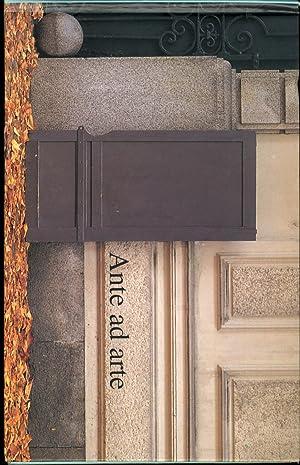 Ante ad Arte in Borgonuovo a Torino.: Mantovani, Pino