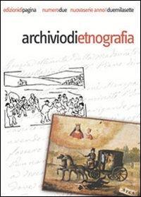 Archivio di etnografia (2007). Vol. 2.: Mirizzi, Ferdinando