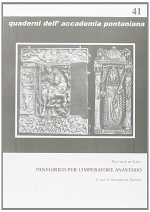 Panegirico per l'imperatore Anastasio.: Procopio di Gaza