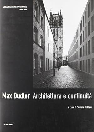 Max Dudler. Architettura e continuità.