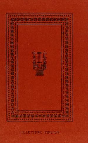 Canti (rist. anast. 1831).: Leopardi, Giacomo