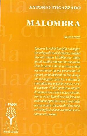 Malombra.: Fogazzaro Antonio