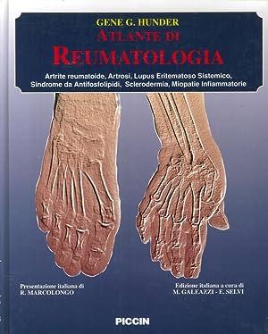 Atlante di Reumatologia. Artrite Reumatoide, Artrosi, Lupus Eritematoso Sistemico, Sindrome Da ...