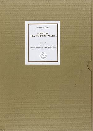 Scritti su Francesco De Sanctis.: Croce, Benedetto
