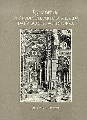 Quaderno di studi sull'arte lombarda dai Visconti