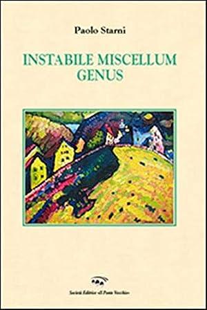 Instabile miscellum genus.: Starni, Paolo