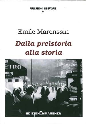 Dalla preistoria alla storia.: Marenssin Emile