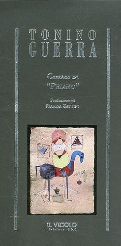 "Tonino Guerra. Cantèda ad ""Priamo"".: aa.vv."