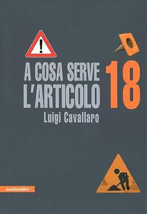 A cosa serve l'articolo 18.: Cavallaro, Luigi