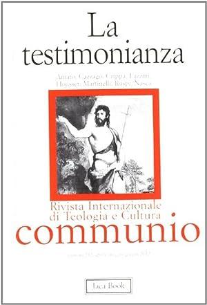 La testimonianza.: aa.vv.