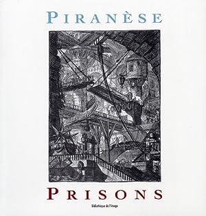 Piranèse. Prisons.: Daniel Rabreau