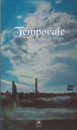 Temporale. Poesie.: Marra, Lorenzo