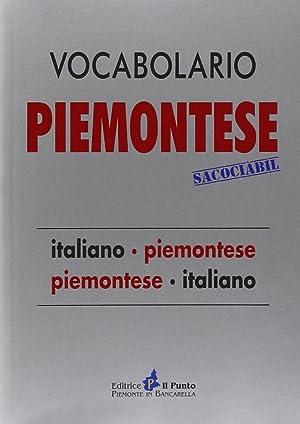 Vocabolario piemontese sacociàbil. Italiano-piemontese, piemontese-italiano.: Brero, Camillo...