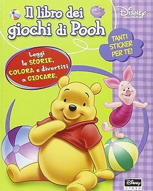 Il libro dei giochi di Pooh. Con adesivi.