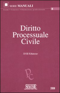 Diritto processuale civile.
