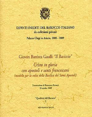 """Giovan Battista Gaulli """"Il Baciccio"""". Cristo in"""