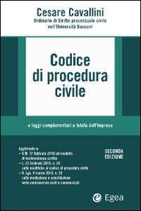 Codice di procedura civile e leggi complementari alla tutela dell'impresa. Con CD-ROM.