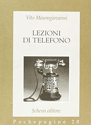 Lezioni di telefono.: Maurogiovanni, Vito