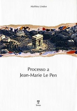 Processo a Jean-Marie Le Pen.: Lindon, Mathieu