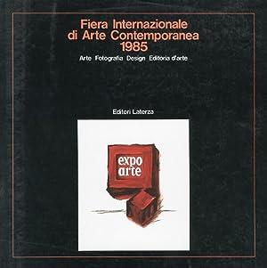 Fiera internazionale di arte contemporanea 1985. Arte, fotografia, design, editoria d'arte. ...