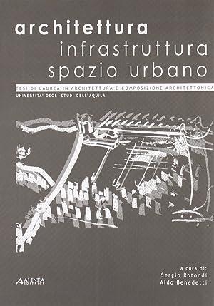 Architettura infrastruttura spazio urbano.