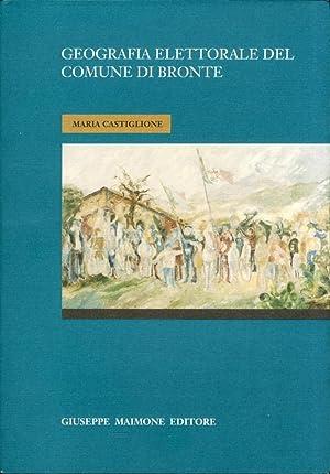 Geografia elettorale del comune di Bronte.: Castiglione, Maria