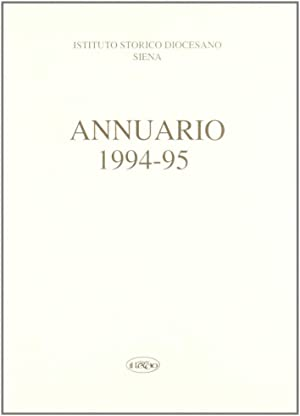 Annuario dell'Istituto storico diocesano di Siena (1994-95).