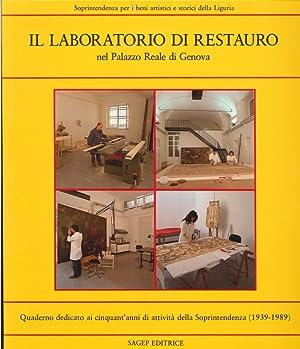 Il laboratorio di restauro nel Palazzo reale